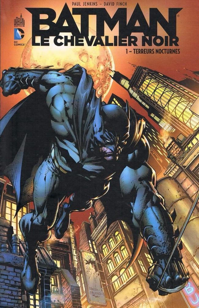 Couverture de Batman, le Chevalier Noir -1- Terreurs nocturnes