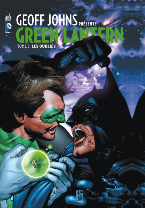 Couverture de Green Lantern (Geoff Johns présente) -2- Les Oubliés