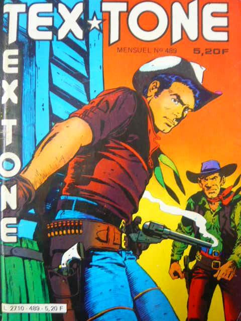 Couverture de Tex-Tone -489- Le dernier défi