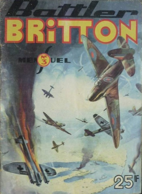 Couverture de Battler Britton (Imperia) -3- Mission à Berlin