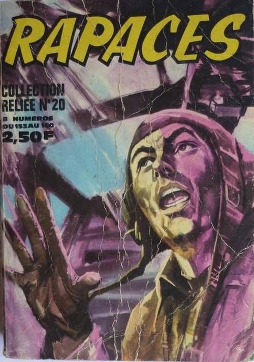 Couverture de Rapaces (Impéria) -Rec20- Collection reliée N°20 (du n°153 au n°160)