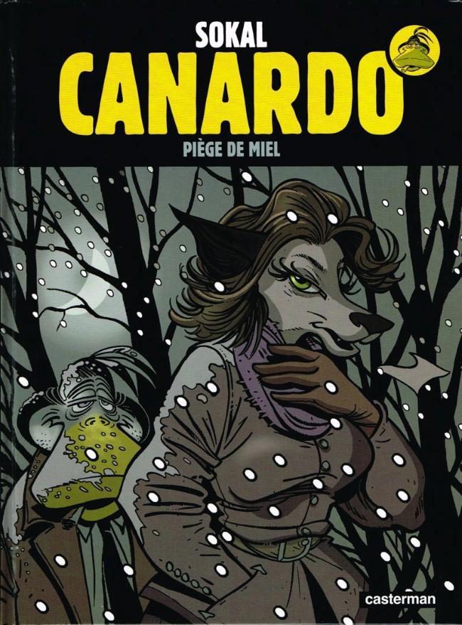 Couverture de Canardo (Une enquête de l'inspecteur) -21- Piège de miel