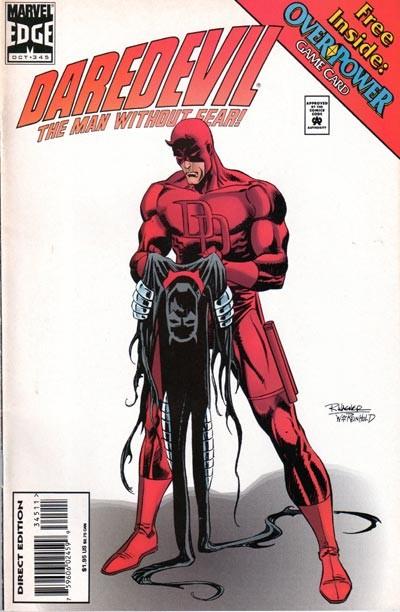 Couverture de Daredevil (1964) -345- Inferno, Part one