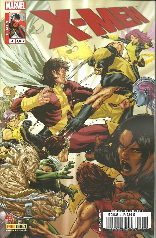 Couverture de X-Men (Marvel France 3e série - 2012) -4- Tribus égarées