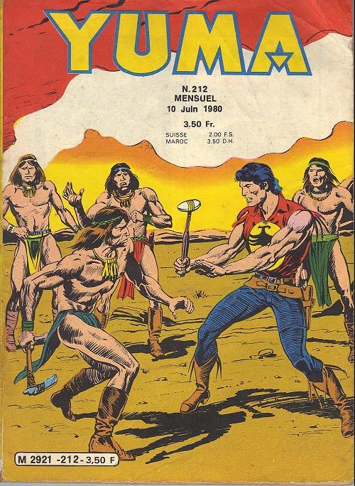 Couverture de Yuma (1re série) -212- La fin de Red Warrior