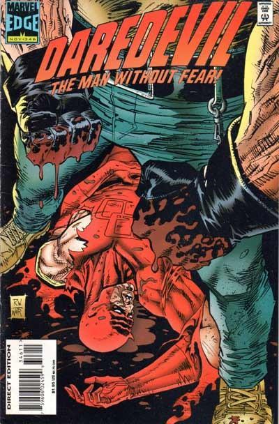 Couverture de Daredevil (1964) -346- Inferno, part two