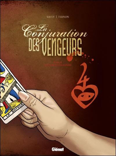 Couverture de La conjuration des Vengeurs -2- Les nobles voyageurs