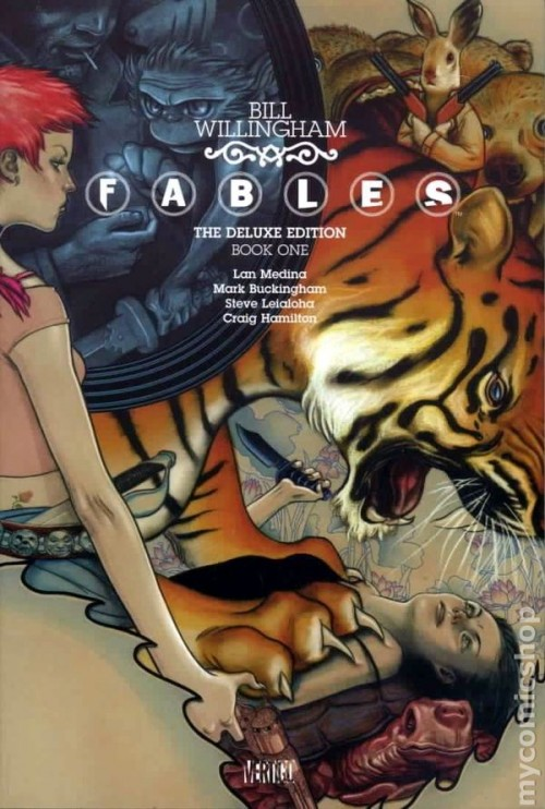 Couverture de Fables (2002) -INTHC01- The Deluxe Edition Book One