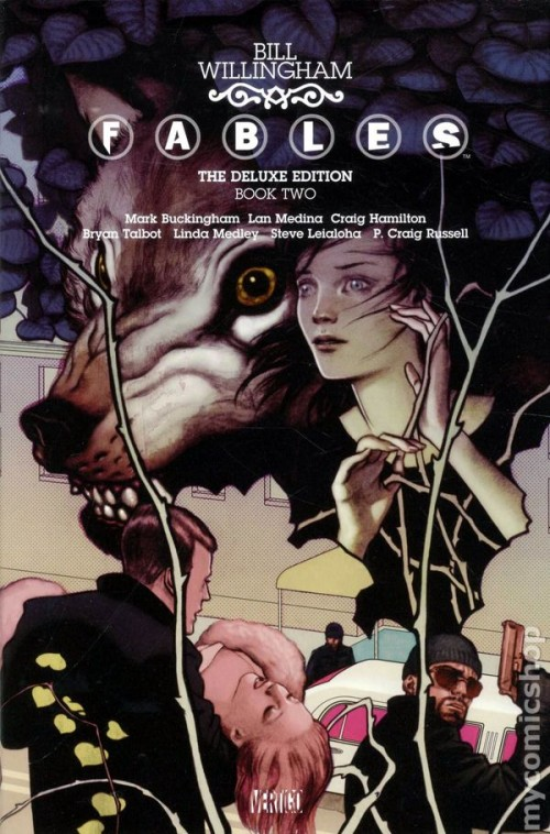 Couverture de Fables (2002) -INTHC02- The Deluxe Edition Book Two