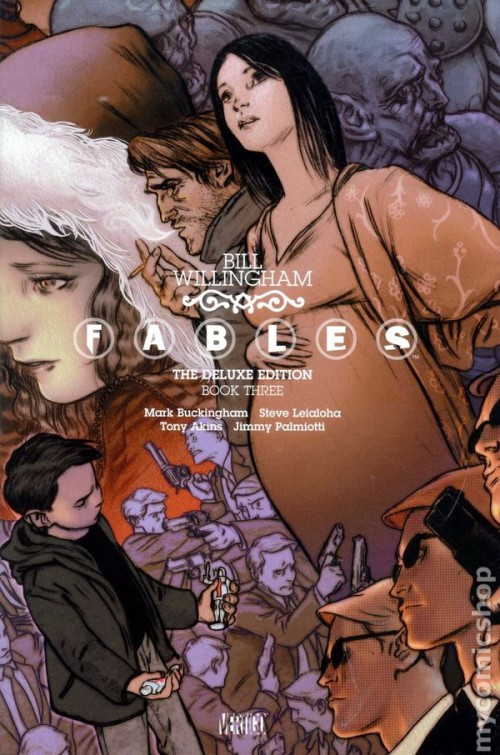 Couverture de Fables (2002) -INTHC03- The Deluxe Edition Book Three
