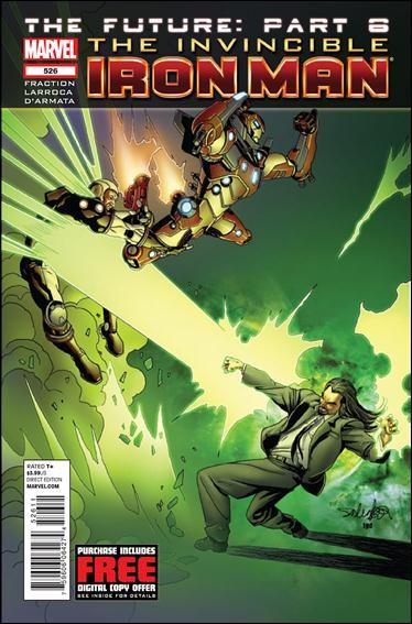 Couverture de Invincible Iron Man (2008) -526- The future part 6 : independance day