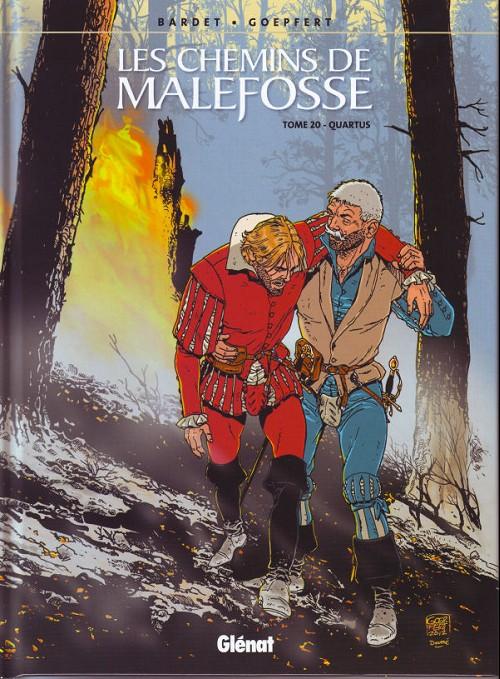 Couverture de Les chemins de Malefosse -20- Quartus