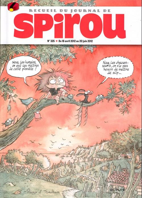 Couverture de (Recueil) Spirou (Album du journal) -325- Spirou album du journal