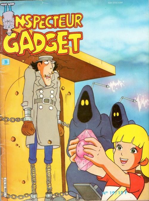 Couverture de Inspecteur Gadget (1re série - Greantori) -19- Le Rubis