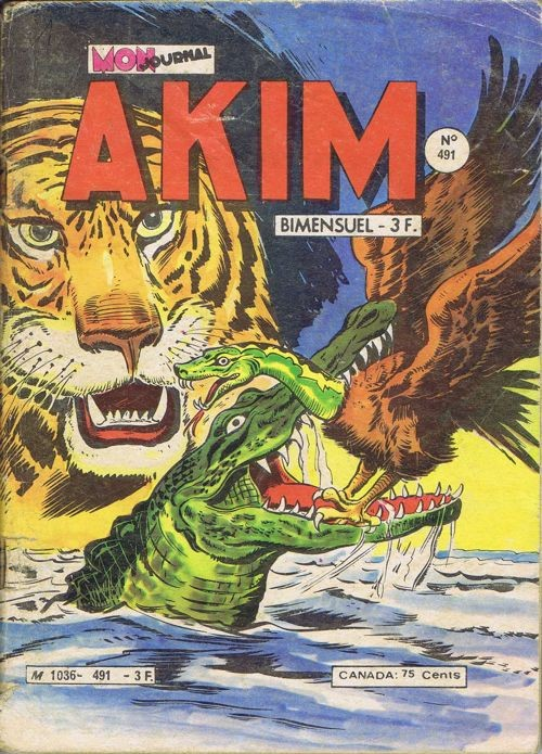 Couverture de Akim (1re série) -491- Tigor le terrible