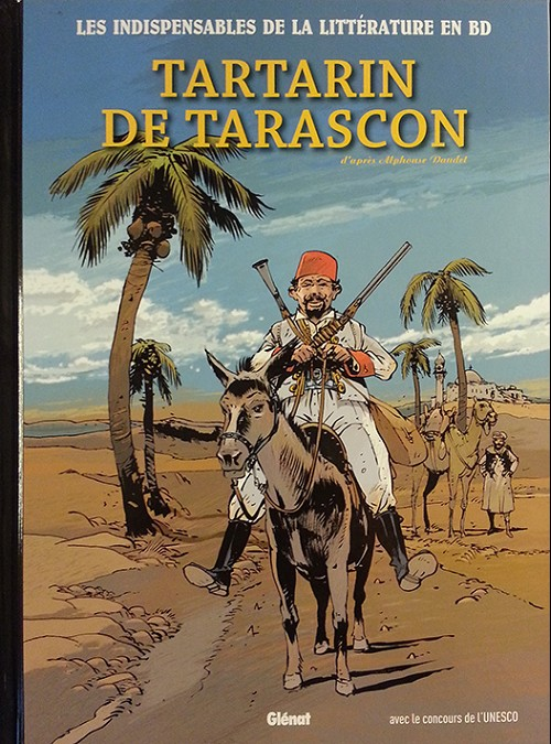 Couverture de Les indispensables de la Littérature en BD -12- Tartarin de Tarascon