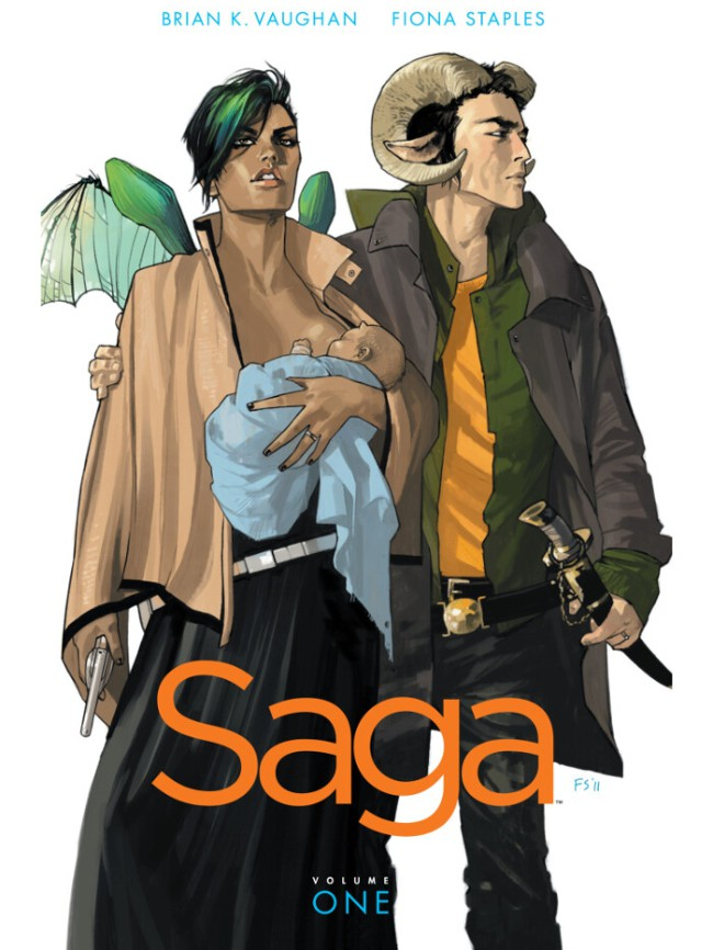 Couverture de Saga (2012) -INT01- Saga - Volume One