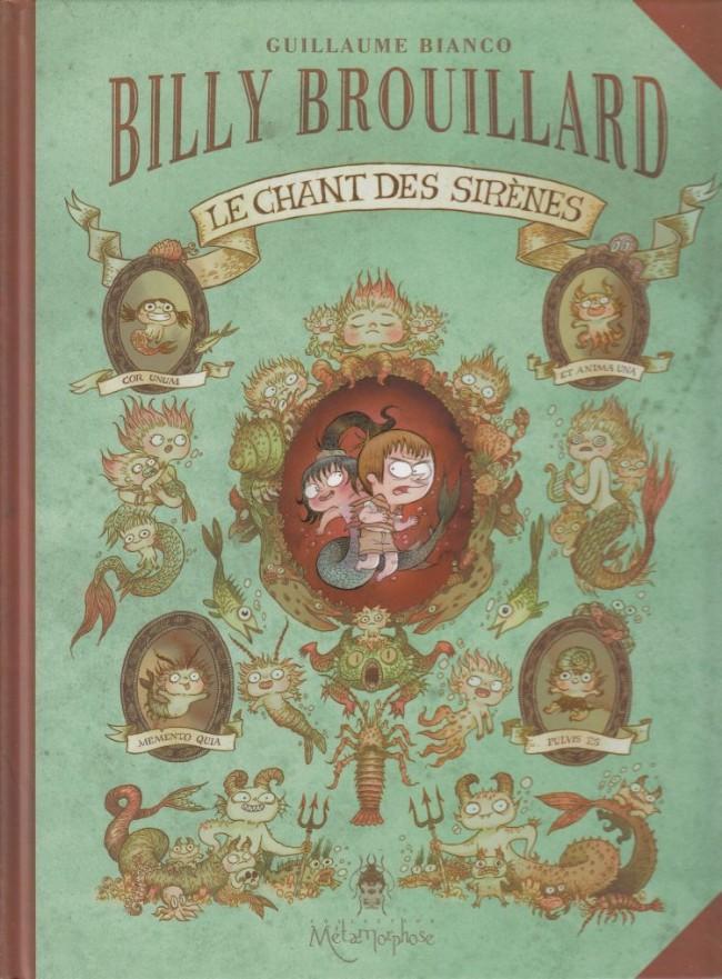 Couverture de Billy Brouillard -3- Le chant des sirènes