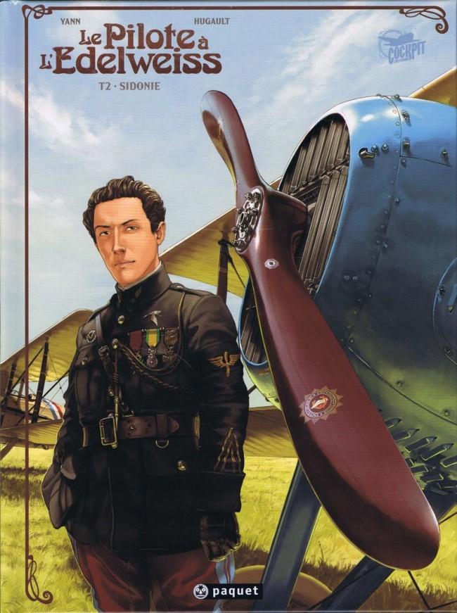Couverture de Le pilote à l'Edelweiss -2- Sidonie