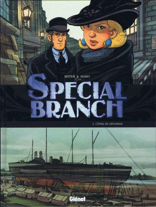 Couverture de Special Branch -3- L'éveil du Léviathan