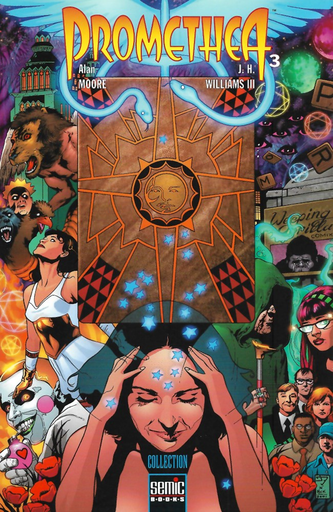 Couverture de Promethea -3- Tome 3