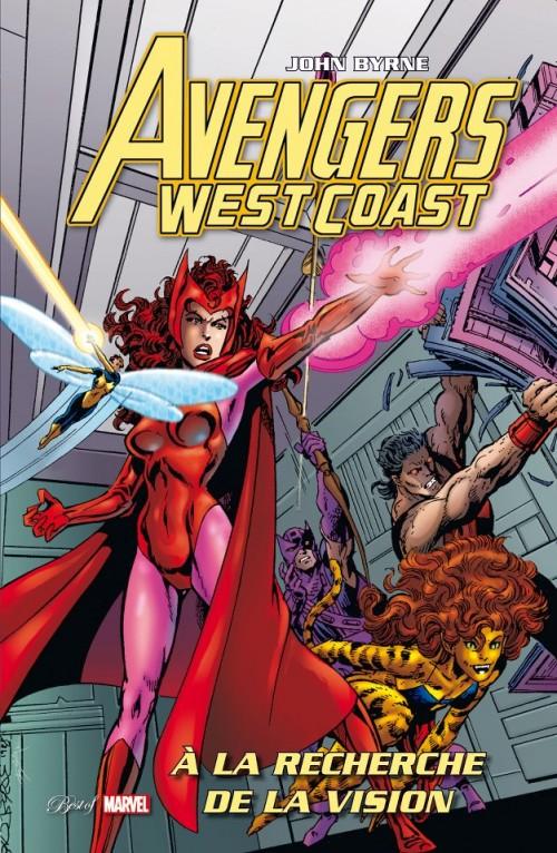 Couverture de Best of Marvel -34- Avengers West Coast : À la recherche de la Vision
