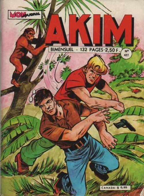 Couverture de Akim (1re série) -427- L'épreuve du feu