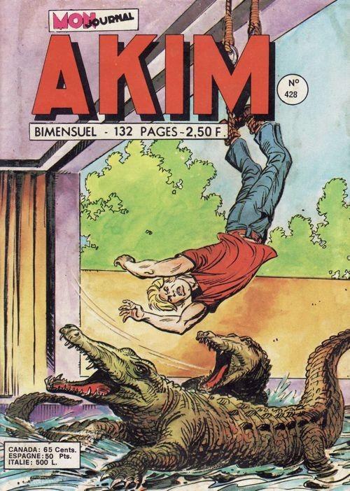Couverture de Akim (1re série) -428- La forêt des arbres jaunes