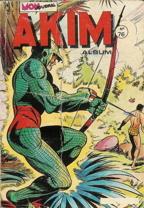 Couverture de Akim (1re série) -Rec076- Album N°76 (du n°425 au n°428)