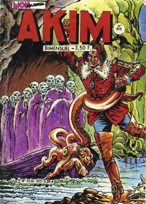 Couverture de Akim (1re série) -513- La grande forêt