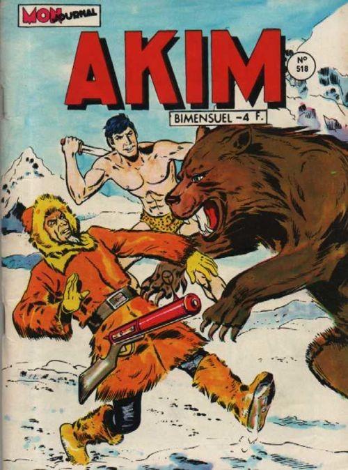 Couverture de Akim (1re série) -518- La grande Mort