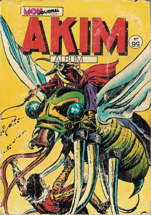 Couverture de Akim (1re série) -Rec099- Album N°99 (du n°517 au n°520)