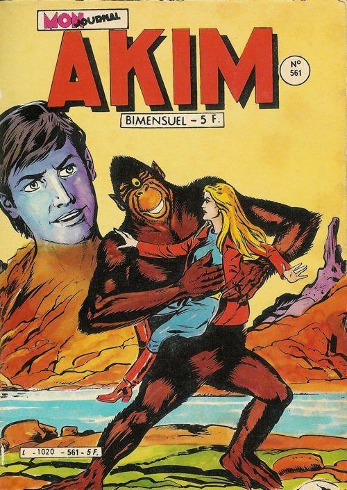 Couverture de Akim (1re série) -561- La voix de la montagne