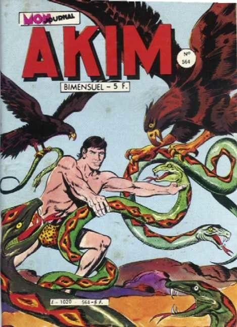 Couverture de Akim (1re série) -564- Moll, à la rescousse