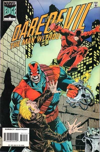 Couverture de Daredevil (1964) -351- Helping hands