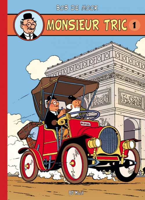 Couverture de Monsieur Tric (BD Must) -1- Monsieur Tric 1