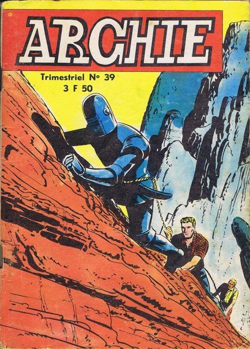 Couverture de Archie (Jeunesse et Vacances) -39- Le réveil du mastodonte...