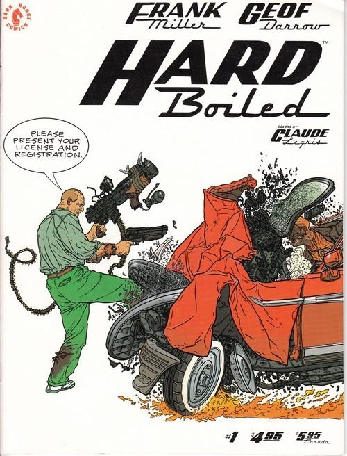 Couverture de Hard Boiled (1990) -1- Hard Boiled 1/3
