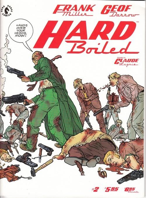 Couverture de Hard Boiled (1990) -2- Hard Boiled 2/3