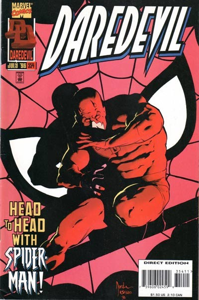 Couverture de Daredevil Vol. 1 (Marvel - 1964) -354- Charming devils