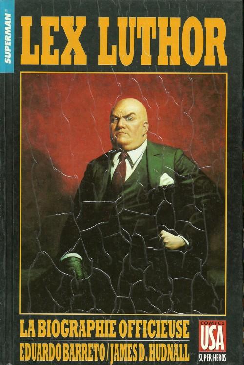 Couverture de Super Héros (Collection Comics USA) -30- Superman : Lex Luthor