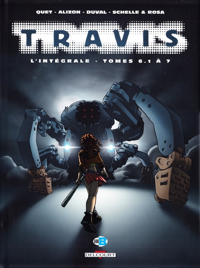 Couverture de Travis -INT2- L'Intégrale - Tomes 6.1 à 7
