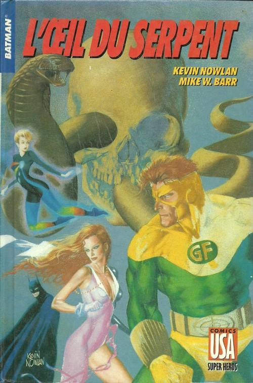 Couverture de Super Héros (Collection Comics USA) -28- Batman : L'œil du serpent