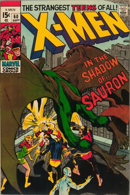 Couverture de Uncanny X-Men (The) (Marvel comics - 1963) -60- In the Shadow of... Sauron!