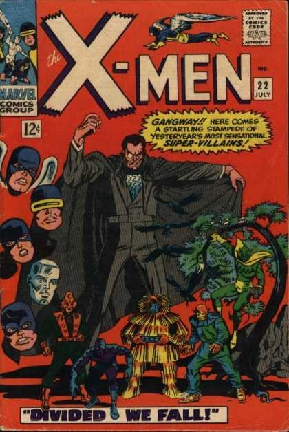 Couverture de Uncanny X-Men (The) (Marvel comics - 1963) -22- Divided we fall