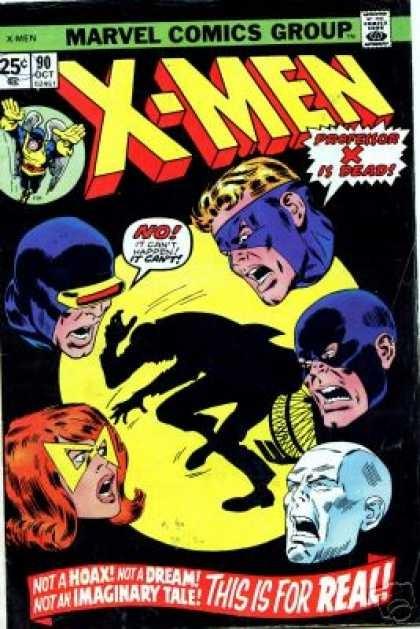 Couverture de Uncanny X-Men (The) (Marvel comics - 1963) -90- If I Should Die...!