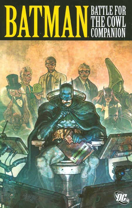 Couverture de Batman: Battle for the Cowl (2009) -INT- Batman: Battle for the cowl Companion