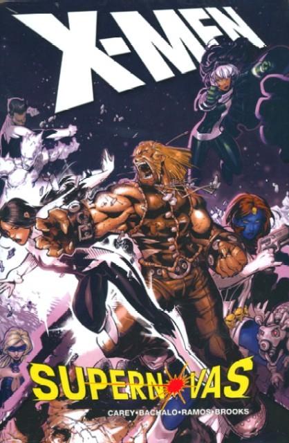 Couverture de X-Men (1991) -INT- X-Men: Supernovas