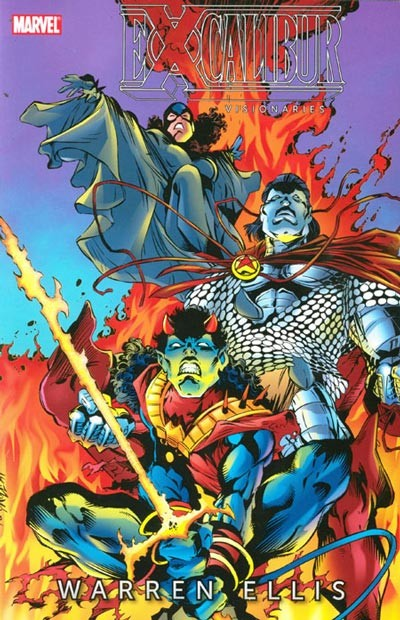Couverture de Excalibur (1988) -INTV03- Excalibur Visionaries: Warren Ellis volume 3