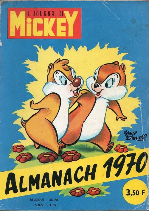 Couverture de Almanach du Journal de Mickey -14- Année 1970